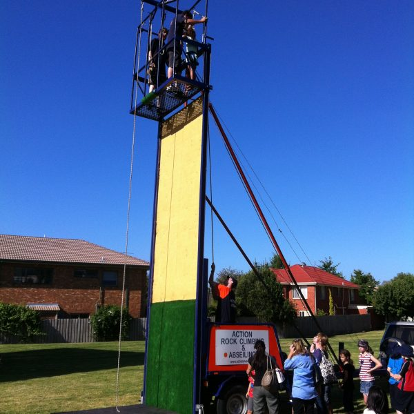 Abseiling Wall 1