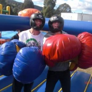 Bouncy Boxing Inflatable Game