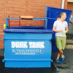 Dismantable Dunk Tank