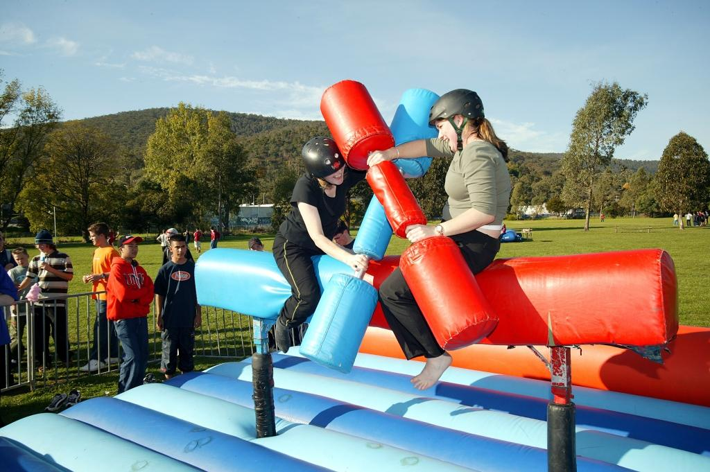 Gladiator Challenge Inflatable...