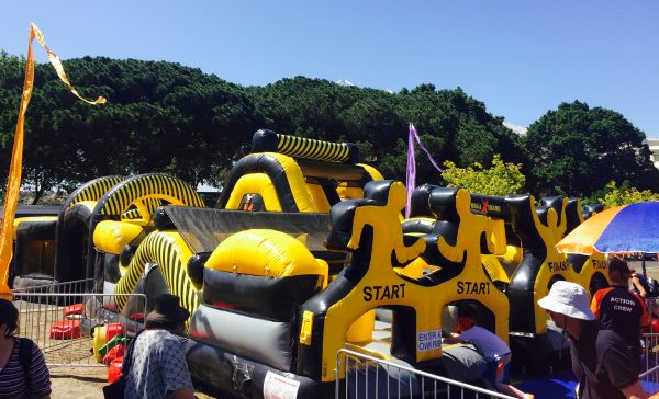 Mega Xtreme Obstacle Course Ride