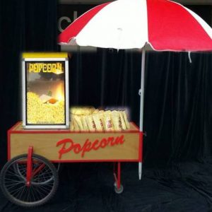 Popcorn Machine and Cart 1