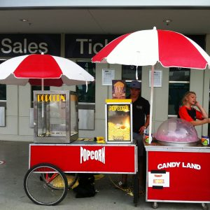 Popcorn Machine and Cart 2