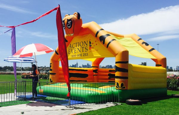 Tiger all ages Jumping Castle