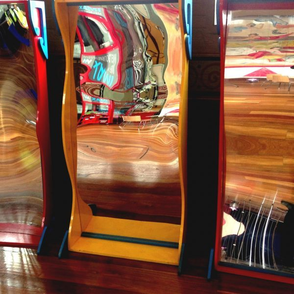 Crazy Mirrors Carnival Game