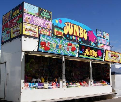 Showbag Van Carnival Fun