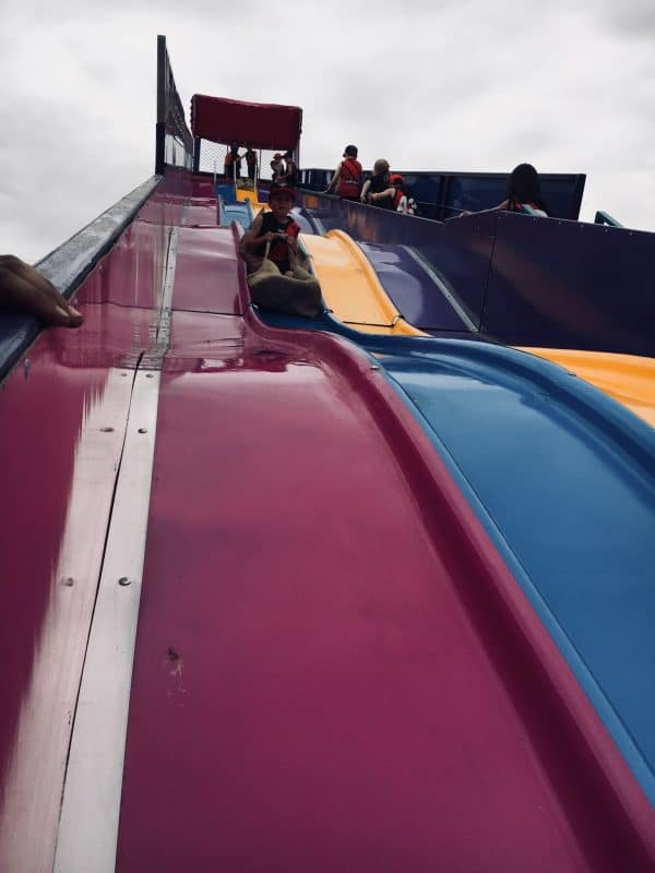 Superslide Closeup